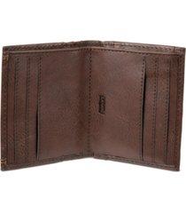 levi's men's slim duofold wallet