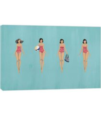 ptm images, beach essentials decorative canvas wall art