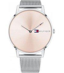 reloj tommy hilfiger 1781970 plateado -superbrands