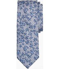corbata floral azul brooks brothers