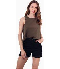 shorts new york negro jacinta tienda