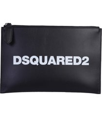 dsquared2 logo pouch