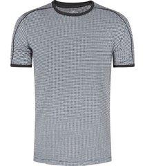 camiseta textura en silueta slim fit para hombre 08130