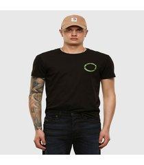 polera t diegos x46 t shirt negro diesel
