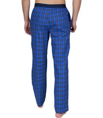 tommy hilfiger pyjamabroek flag ruit blauw