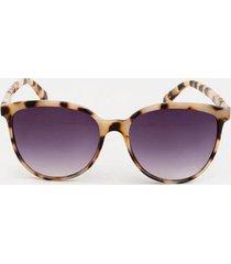 bailey oversized round sunglasses - blush