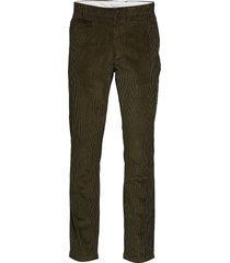 chuck 8 wales corduroy chinos - got chinos byxor grön knowledge cotton apparel