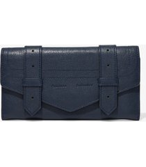 proenza schouler ps1 continental wallet midnight/blue one size