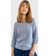 sweater only celeste - calce holgado