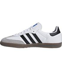 zapatilla blanca adidas samba og