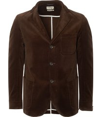 stuarts x oliver spencer 50th anniversary chocolate corduroy solms jacket osmj201c