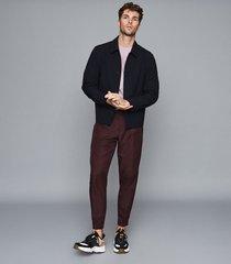 reiss bless - crew neck t-shirt in lavender, mens, size xxl