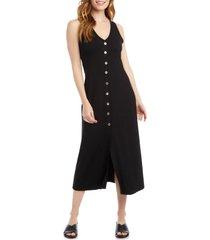 women's karen kane alana button-up midi dress
