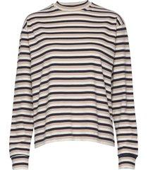 astrid long sleeve t-shirts & tops long-sleeved multi/patroon wood wood