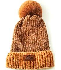 gorro de lana el bolsón café niba
