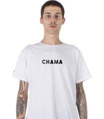 camiseta masculina stoned chama
