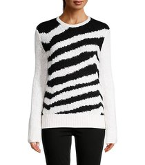 irish coffee striped sweater