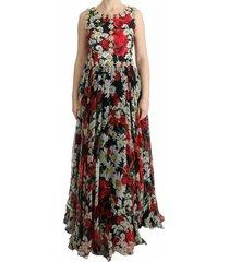 floral crystal long maxi dress