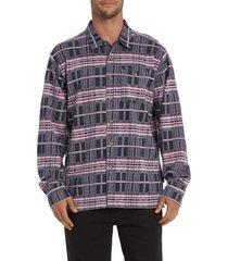 men's billabong swindler button-up pique shirt