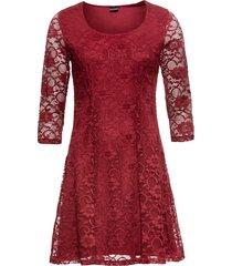 abito con pizzo (rosso) - bodyflirt