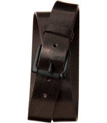 cinturon tumbled leather denim café banana republic