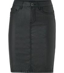 kjol onlemilie rock coated skirt