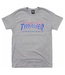 camiseta thrasher magazine patriot flame