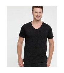 camiseta botonê manga curta mr masculina