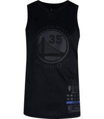 camisa regata nike nba golden state warriors durant 35 - masculina - preto