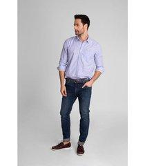 jeans semifitted denim bigotes