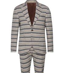 2070andersen-bank shorts kostym multi/mönstrad bertoni