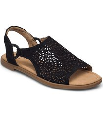 reyna swirl shoes summer shoes flat sandals svart clarks