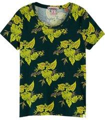 t-shirt boxy groen