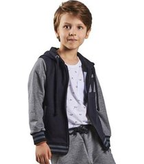 jaqueta infantil bugbee moletom masculina