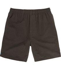 men's chubbies the flints 7-inch hybrid swim trunks, size small - grey