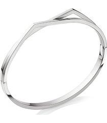 'antifer' white gold double row bracelet