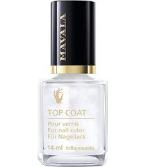 base mavala star top coat silver 14ml