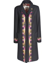 bazar deluxe concealed long coat