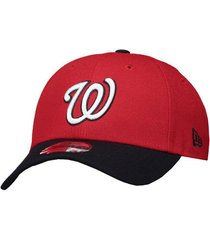 boné new era mlb washington nationals 940 vermelho e preto