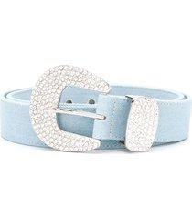 b-low the belt brittany denim belt - blue