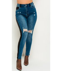 akira two party high waisted skinny jeans