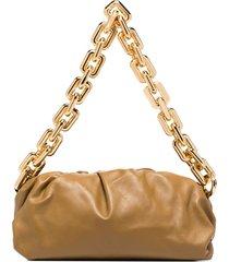 bottega veneta the chain pouch shoulder bag - green