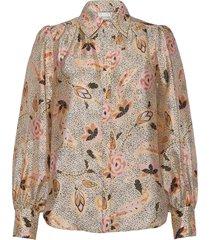 eske shirt blouse lange mouwen multi/patroon second female