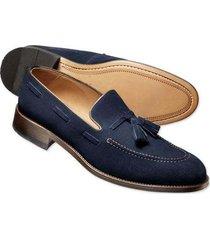 handmade mens navy blue loafer slip on shoes. men suede dress shoes, mens shoes