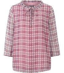 blouse iets transparant chiffon van mybc multicolour
