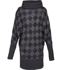 pullover lungo (grigio) - bodyflirt