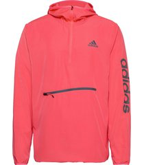m at pbl 1/4 wb outerwear sport jackets anoraks roze adidas performance