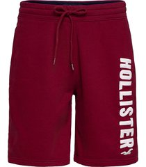 tech logo shorts shorts casual röd hollister