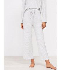 loft cherry striped pajama pants