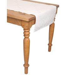 centro de mesa naturalle panama damask off white branco
